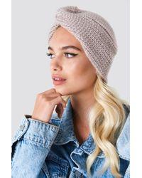 NA-KD - Turban Style Beanie - Lyst