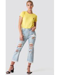 Mango - Bella Jeans Tejano Claro - Lyst