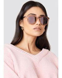 Le Specs - No Smirking Crystal Rose - Lyst