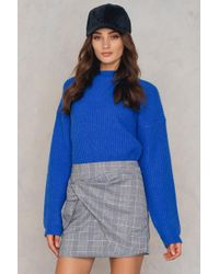 Dance & Marvel - Draped Mini Skirt - Lyst