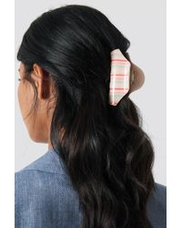NA-KD - Striped Hairclip - Lyst