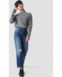 Cheap Monday - Revive Blue Oxide Jeans Blue - Lyst
