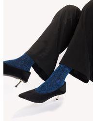 NA-KD - Glitter Socks - Lyst