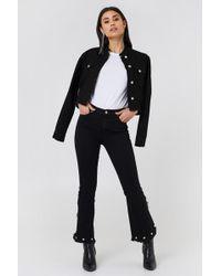 Trendyol - Crop Flared Jeans - Lyst