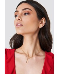 NA-KD - Wish Bone Necklace - Lyst