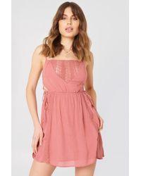 NA-KD - Tied Up Mini Dress - Lyst
