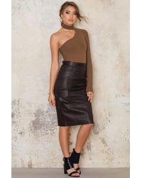 Dagmar - Agatha Leather Pencil Skirt - Lyst