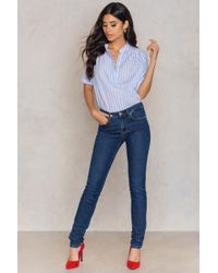 Filippa K - Debbie Midnight Blue Wash Jeans - Lyst