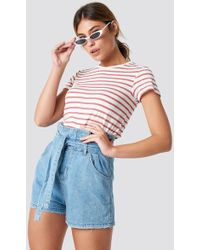 Mango - Romantic Shorts - Lyst