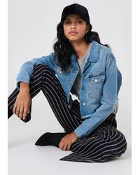 Wrangler - Retro Crop Jacket - Lyst