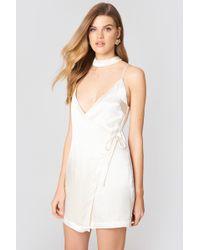 Endless Rose - Satin Mini Dress - Lyst