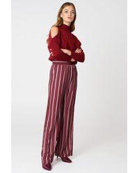 NA-KD - High Waist Wide Pants - Lyst