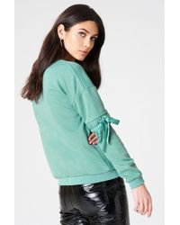 Rut&Circle - Thora Elastic Sleeve Sweat - Lyst