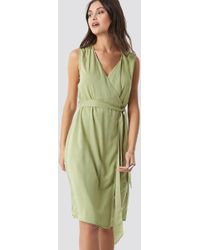78e2b667 By Malene Birger Ofiniol Dress in Green - Lyst