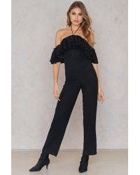 SHEIN - Sequin Detail Jumpsuit - Lyst