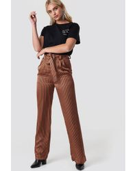 Gestuz - Veronica Trousers Ginger Stribe - Lyst