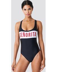Colourful Rebel - Senorita Bathing Suit - Lyst