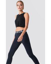 Calvin Klein - Waistband Legging Pvh Black - Lyst