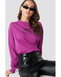 Cheap Monday - Get Jumper Pink Bluis - Lyst