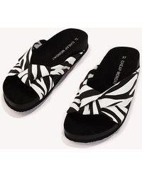 Cheap Monday - Blase Zebra Knot Sandal - Lyst