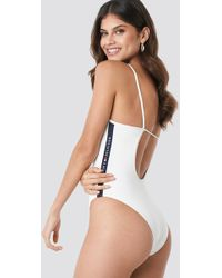 Tommy Hilfiger - Cheeky One-piece White - Lyst