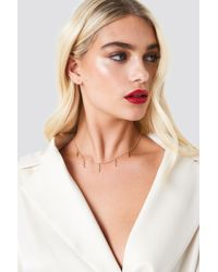 NA-KD - Hanging Multi Cross Necklace - Lyst