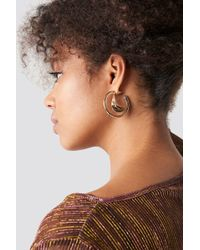Mango - Gales Earrings Gold - Lyst