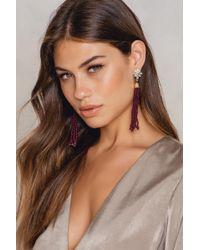 NA-KD | Bead Tassel Earring | Lyst