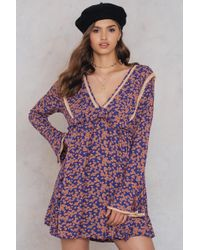 Free People - Like You Best Mini Dress - Lyst