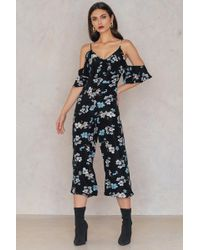 English Factory - Magnolia Print Jumpsuit Magnolia Print - Lyst