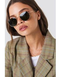 Ray-Ban - Hexagonal Gold - Lyst