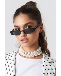NA-KD - Oversize Layered Pearl Necklace - Lyst
