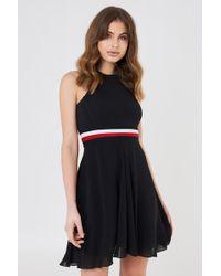 Tommy Hilfiger | Gigi Hadid Silk Racer Back Dress | Lyst