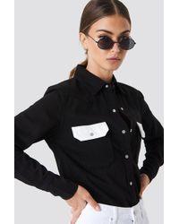 Calvin Klein - Western Lean Contrast Shirt - Lyst