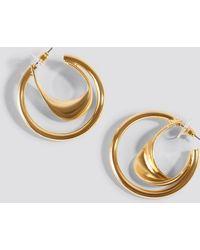 Mango - Gales Earrings Gold - Lyst