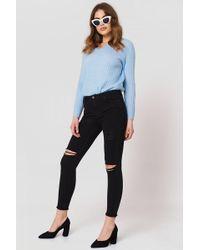 Trendyol - Tear Detail Jeans - Lyst