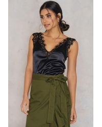SHEIN - Lace Cami Top - Lyst