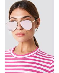 Le Specs - The Prince Gold/blush - Lyst