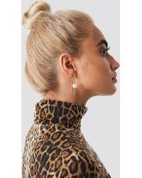 NA-KD - Taraneh Shayesteh Paperclip Earring - Lyst