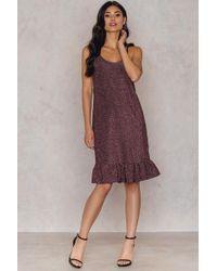 NA-KD | Bottom Frill Dress | Lyst