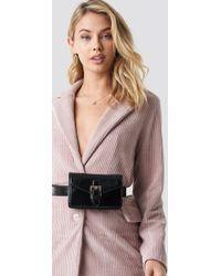 NA-KD - Buckle Detail Belt Bag Black - Lyst