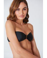 NA-KD - Metal Loop Bandeau Bikini - Lyst