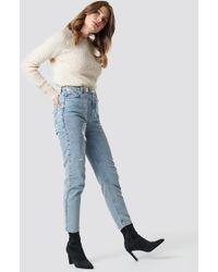 Trendyol - High Mom Jeans Blue - Lyst