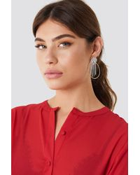NA-KD - Colorful Marquise Ring Earrings - Lyst