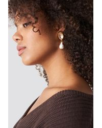 Mango - Coba Earrings Gold - Lyst