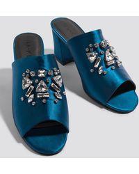 NA-KD - Embellished Mule Sandals - Lyst
