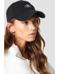 Calvin Klein - J Monogram Cap W Black Beauty - Lyst