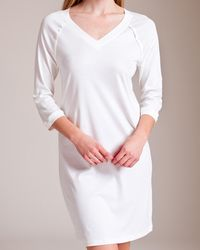 Hanro - Pure Essence 3⁄4 Sleeve Gown - Lyst