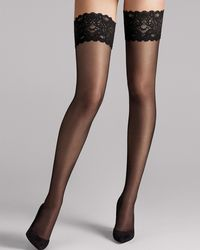 Wolford - Satin Touch 20 Stay Up - Lyst