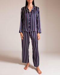 Derek Rose - Silk Pajama - Lyst